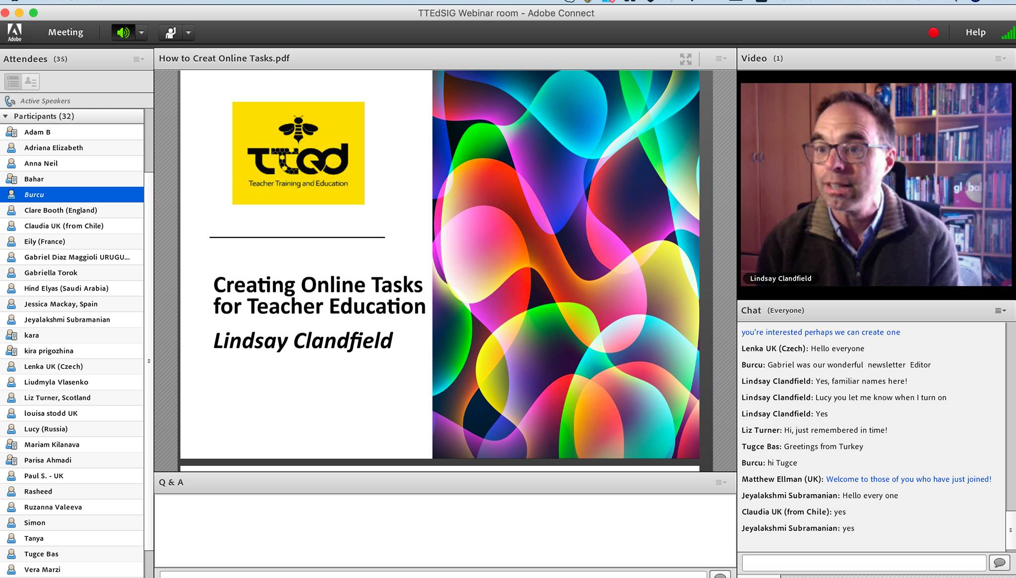 Online Task Design for Teacher Trainers