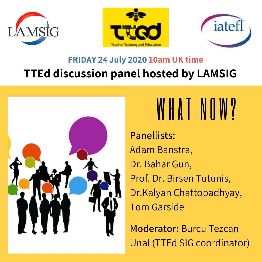 TTEd Discussion Panel hosted by LAMSIG