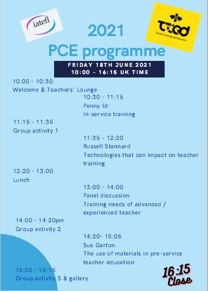 PCE 2021 Program